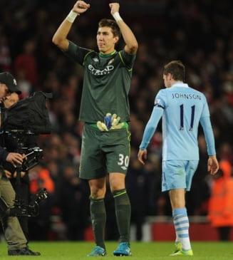 Pantilimon vrea sa cucereasca Europa cu Manchester City