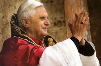Papa Benedict se retrage - E spre binele Bisericii
