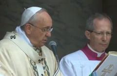 Papa Francisc, despre efectele schimbarilor climatice: Omul este neghiob