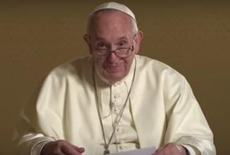 Papa Francisc, mesaj pentru romani: Mergem impreuna cand ne depasim fricile. Va multumesc din inima (Video)