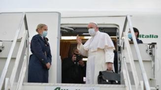 Papa Francisc a sosit in Irak intr-o vizita istorica de trei zile. De ce este considerat un eveniment periculos