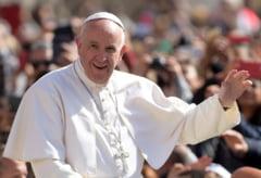 """Papa Francisc critica SUA: Cuvantul """"mama"""" nu ar trebui folosit pentru a descrie o bomba"""