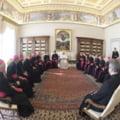 Papa Francisc i-a primit pe episcopii din Romania si R. Moldova in audienta comuna: Vizita Sfantului Parinte in tara noastra, o certitudine