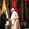 """Papa Francisc s-a întâlnit cu Viktor Orban, la Budapesta: """"Antisemitismul în Europa este un fitil care trebuie stins''"""