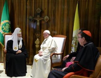 Papa Francisc si Patriarhul Kirill - mesajele dupa intalnirea istorica de la Havana (Video)