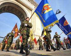 Parada de 1 decembrie: 1.500 de militari vor face repetitii luni si miercuri