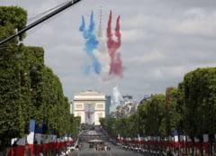 Parada de Ziua Nationala a Frantei, organizata cu mii de spectatori, in ciuda pandemiei. Blindatele care vor defila in premiera VIDEO