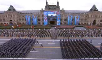 "Parada militara cu peste 12.000 de soldati, la Moscova. Putin, in discursul aniversar: ""Ne vom apara ferm interesele nationale"" VIDEO"