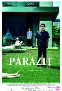 Parazit, filmul castigator al Palme d'Or in 2019, in cinematografe din 8 noiembrie
