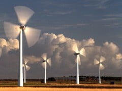 Parc de turbine eoliene in judetul Constanta