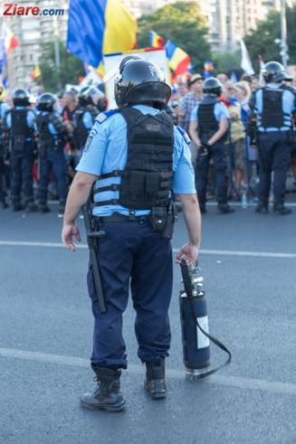 Parchetul General: 291 de plangeri privind protestul din 10 august au fost depuse pana duminica