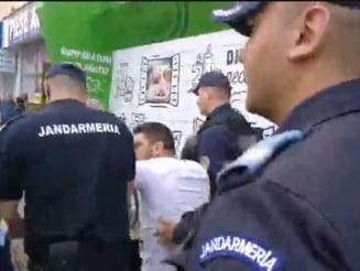Parchetul Militar s-a autosesizat in cazul interventiei jandarmilor de la Topoloveni