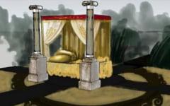 """Parcul Tabacarie din Constanta, scena pentru """"Viata si patimirile lui Ovidius Publius Naso"""""""