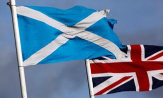 Pariu nebun in Marea Britanie: Jumatate de milion de euro pe independenta Scotiei
