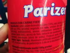 Parizer care contine doar 14% carne si nici aceea macra, ci procesata mecanic