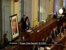 Parlamanetul ceh a tinut un minut de tacere pentru Vaclav Havel
