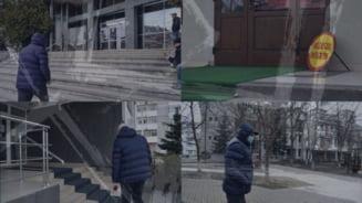"""Parlamentar """"sub acoperire""""! Presedintele PNL """"deghizat"""", raid prin institutii: Unitati incuiate cu paznic in trening, acces interzis, oamenii tinuti in frig pe afara - VIDEO & FOTO"""