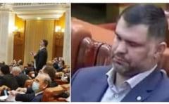 Parlamentar PNL, despre deputatul PSD Daniel Ghita, fost luptator K1: Avem un Sosoc si in Camera Deputatilor! Cand nu doarme, face circ!