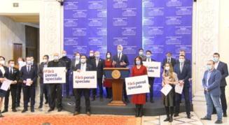 Parlamentarii USR si-au anuntat demisia din Legislativ. Dan Barna: Haideti sa facem un plen si sa abrogam legea pensiilor speciale