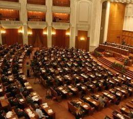 Parlamentarii dezbat, luni, motiunea de cenzura depusa de PD-L