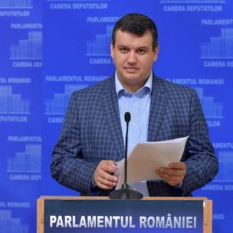Parlamentarul PMP care a votat modificarile pe Codul de Procedura Penala va fi dat afara