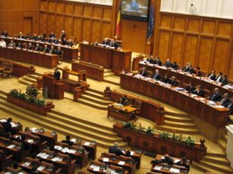 """Parlamentul Romaniei a primit premiul """"Coruptul anului"""""""