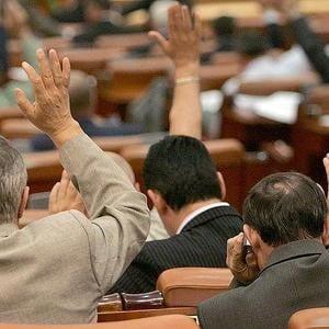 Parlamentul nu se mai intruneste miercuri in sedinta comuna