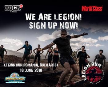 Participa si tu la Legion Run!