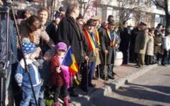 Participare nesperata la manifestarile organizate de Ziua Nationala la Slatina