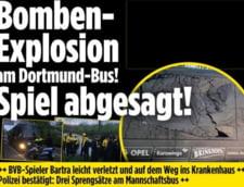 Partida Dortmund-Monaco din Liga Campionilor, amanata dupa 3 explozii petrecute langa autocarul echipei germane