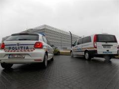 Partida dintre Romania si Cehia, sub paza politistilor