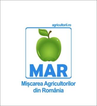 Partidul Miscarii Agricultorilor din Romania, inregistrat oficial la tribunal. Sigla, un mar