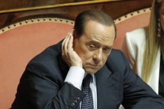 Partidul lui Berlusconi cere gratierea sa si ameninta cu o demisie in masa din Parlament