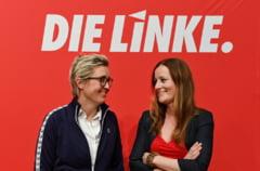 Partidul stangii radicale din Germania a ales la conducere un tandem feminin in perspectiva alegerilor federale din septembrie