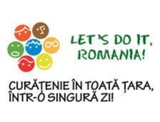 "Partizan canta imnul campaniei ""Let's Do It, Romania"""