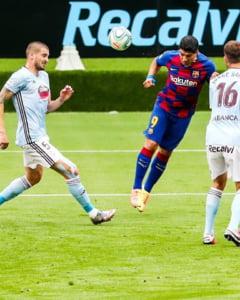 Pas gresit facut de Barcelona in lupta pentru titlu, 2-2 cu Celta