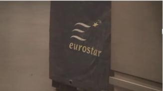 Pasagerii trenurilor Eurostar descriu momentele infricosatoare traite in vagoanele asaltate de refugiati