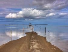 Passage du gois inundat