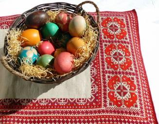 Paste 2014: Ce vopsea de oua contine cele mai multe E-uri