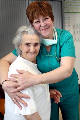 """Pastila de Speranta. Constantina, 82 de ani, bolnava de cancer: """"Zambeam si inainte, dar nu stiam sa ma bucur cu adevarat"""""""