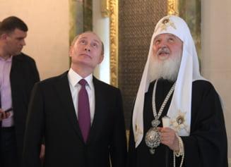 Patriarhul Chiril incepe campania pentru Putin: Votati la alegeri. Forte rauvoitoare pot cauza pagube ireparabile tarii