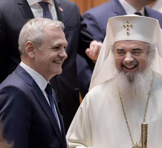 Patriarhul Daniel a facut apel la vot chiar in timpul slujbei: Sa nu fie prea tarziu!