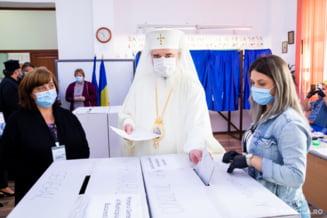 Patriarhul Daniel s-a prezentat la urne la alegerile locale