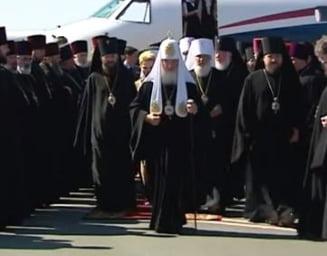 "Patriarhul rus Kirill, atacat de o tanara cu sanii goi: ""Kill Kirill"" (Video)"
