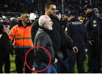 Patronul pistolar de la PAOK, prima reactie dupa incidentul care a socat o lume intreaga