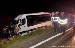 Patru calatori raniti in urma unui accident rutier