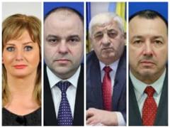 Patru dintre cei cinci parlamentari PSD absenti la motiunea de cenzura au fost exclusi din partid
