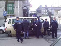 """Patru membri ai gruparii """"Cadastru"""", identificati de politisti"""