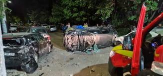 Patru răniți și șapte mașini avariate într-un accident produs în cartierul Militari din București