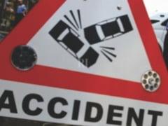Patru raniti, intr-un accident cu trei masini, la Arad